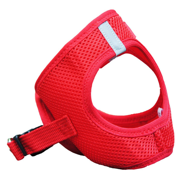 American River Solid Ultra Choke Free Dog Harness - Red