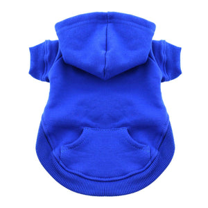 Flex-Fit Dog Hoodie - Blue