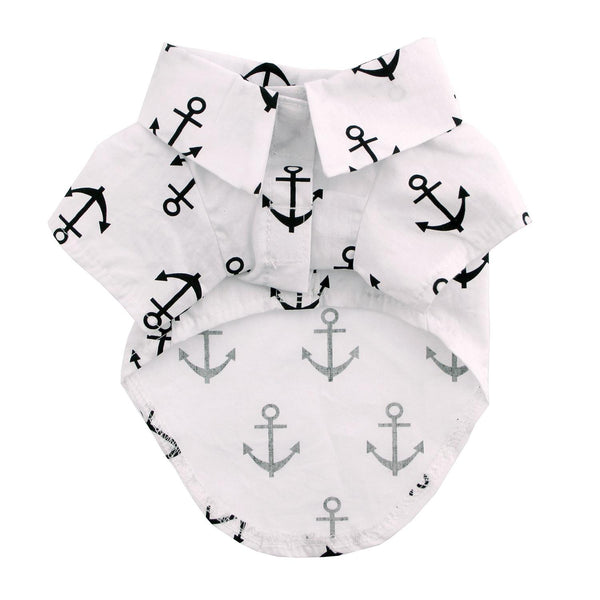 Hawaiian Camp Shirt - Anchors Away