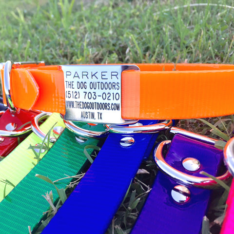 Personalized Waterproof Dog Collars