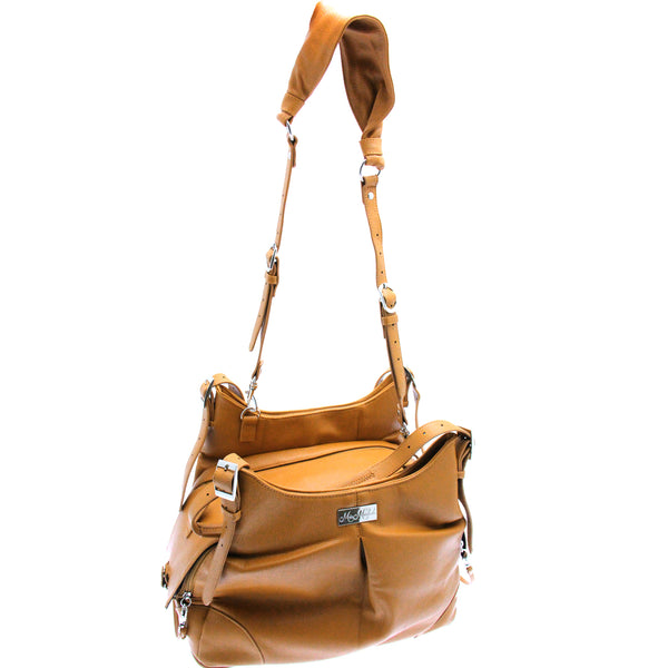 Zoie Mia Michele Caramel Macchiato Carry Bag