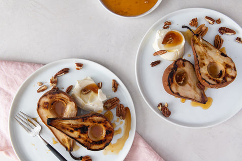 Grilled Pears on the Spark