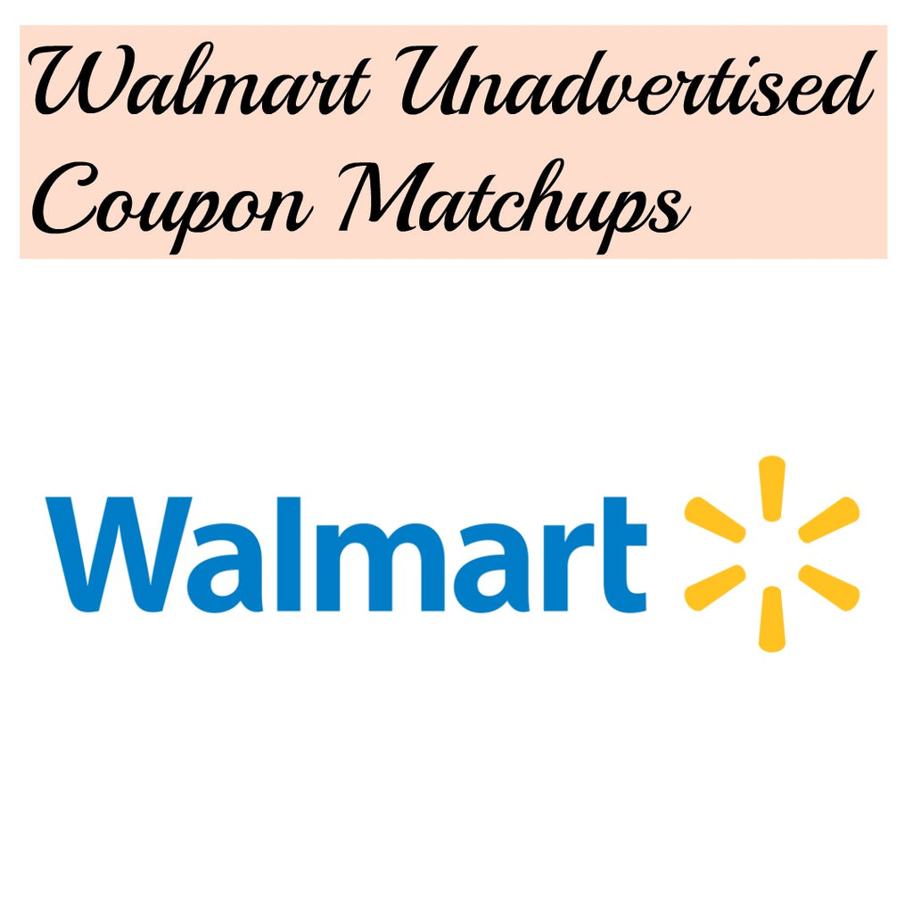 Walmart Unadvertised Deals – Week of 10/13
