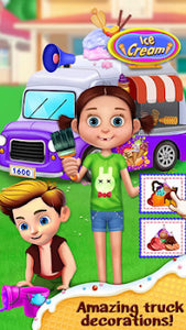 Fair Kids Ice Cream Truck