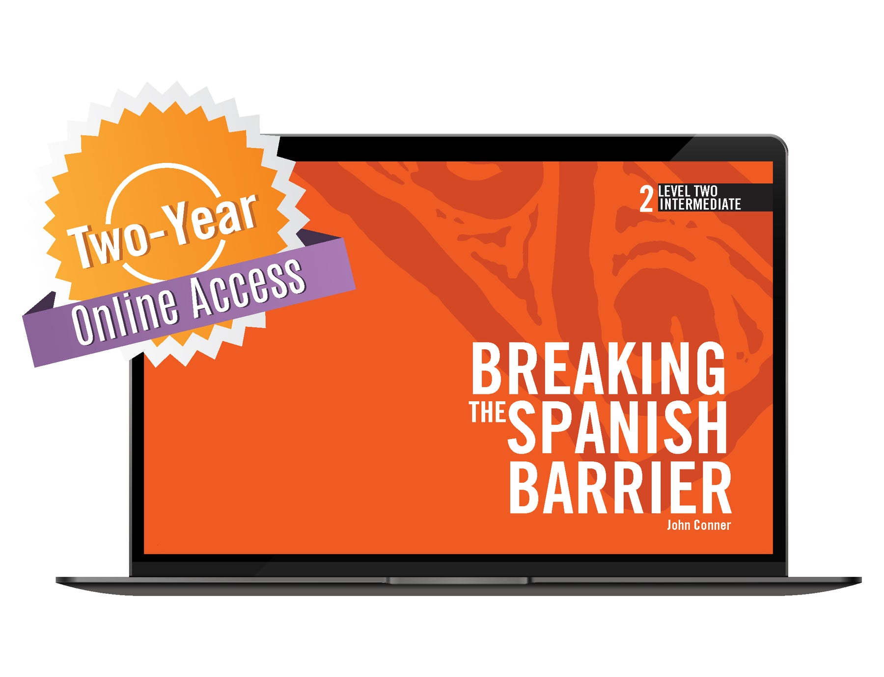 Spanish Level 2/Intermediate Online Access Code (24 months)