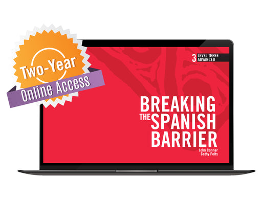 Spanish Level 3/Advanced Online Access Code (24 months)