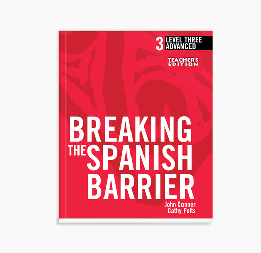 Spanish Level 3/Advanced Book (Teacher's Edition)