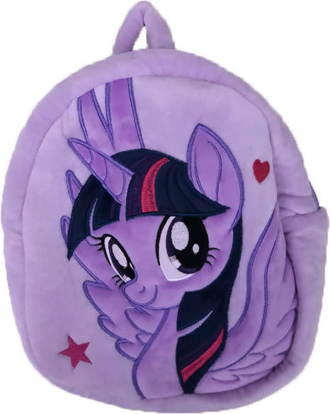 HANLOW - Fun 24cm Plush Backpack - MLP / Purple