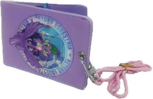 HANLOW - My Little Pony Slim Wallet with Lanyard - Purple