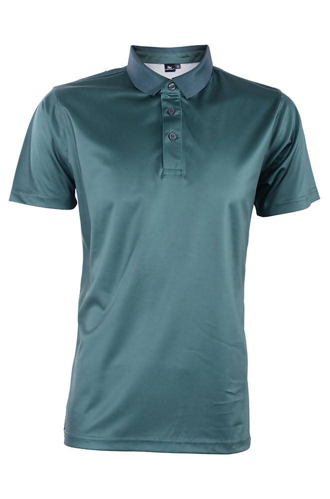 RIGHTWAY - Outréfit Reflective Design Polo Army Green