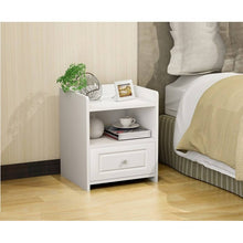 Load image into Gallery viewer, OSUKI - Japan Quality Modern Bedside Drawer Table (WHITE)