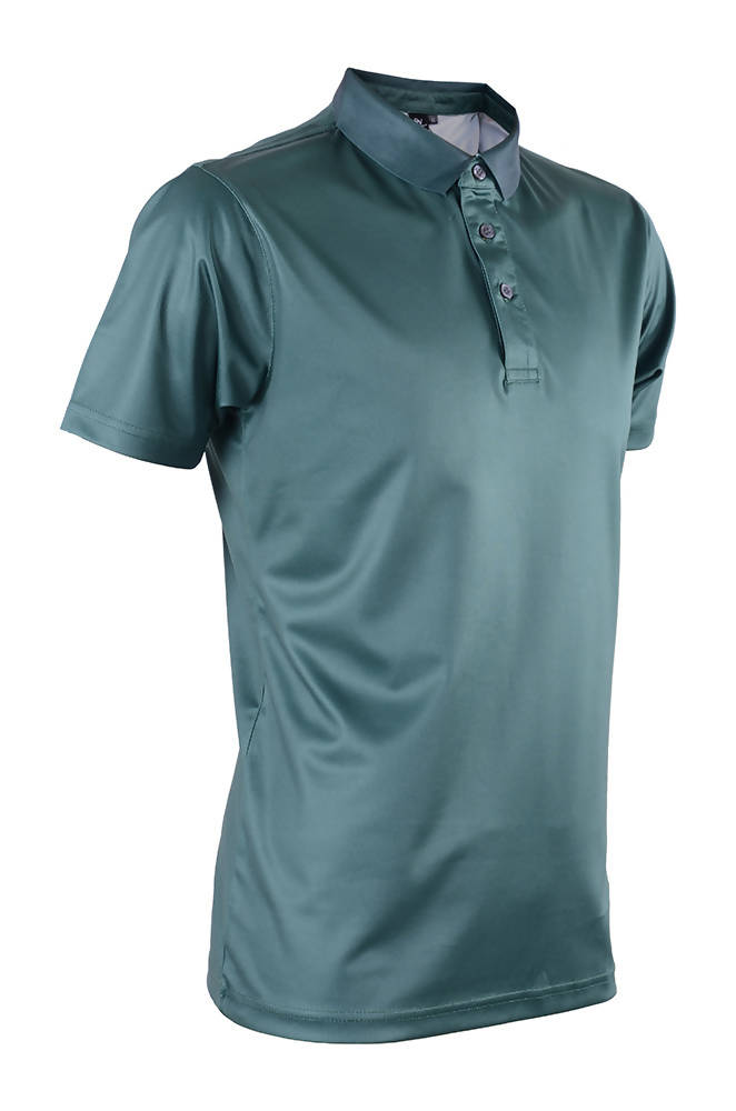 RIGHTWAY - Outréfit Reflective Design Polo - Army Green