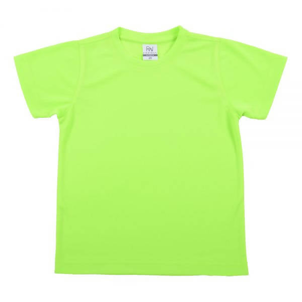 RIGHTWAY - Outréfit Kids Round Neck - Volt Green