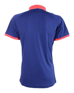RIGHTWAY - Outréfit Reflective Design Polo Navy Blue/ Red