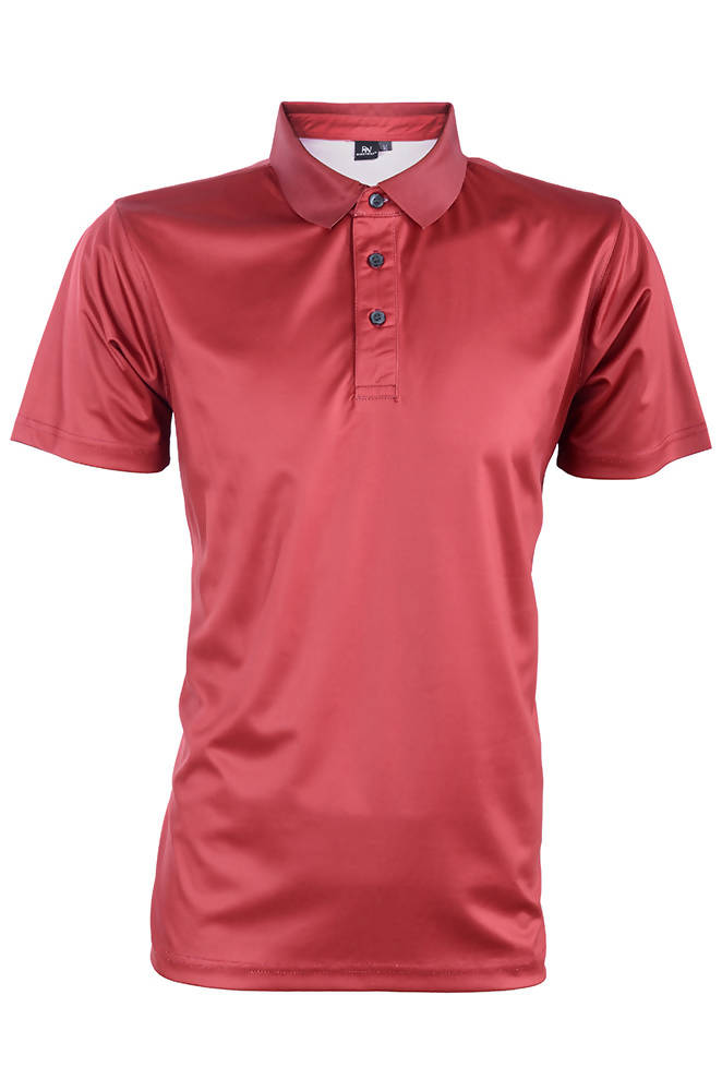 RIGHTWAY - Outréfit Reflective Design Polo Maroon