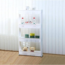 Load image into Gallery viewer, OSUKI - Kitchen Storage 4 Tier Pulley Rack (WHITE)
