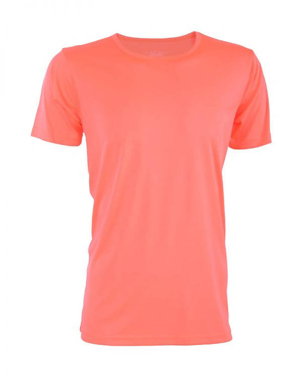 RIGHTWAY - Outré fit Round Neck Neon Red