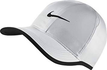 NIKE - Court Featherlight Adjustable Tennis Cap - White