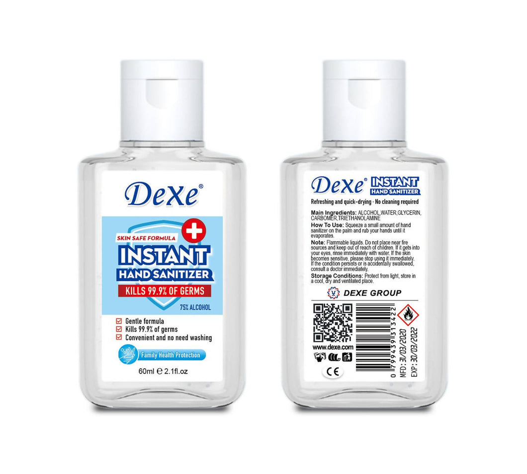 ANITA - DEXE 60ml Hand Sanitizer