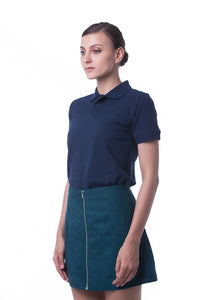 RIGHTWAY - Signature Polo Unisex - Navy Blue