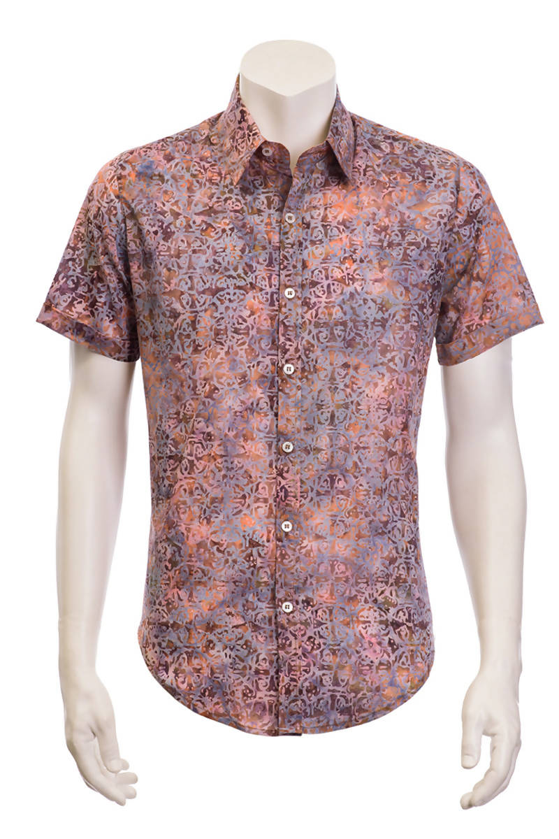 ARIZALI - Shirt Greg - Earthy Lace