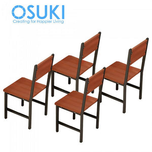 OSUKI - Home Dining Chair Set 4PCS AD75