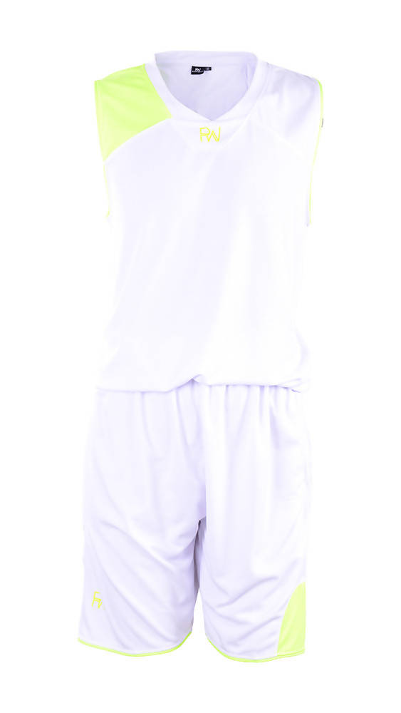 RIGHTWAY - Basketball Jersey - White/ Green
