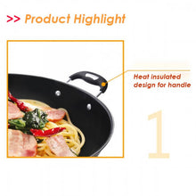 Load image into Gallery viewer, OSUKI - Non Stick Wok Pan With Cover 38CM