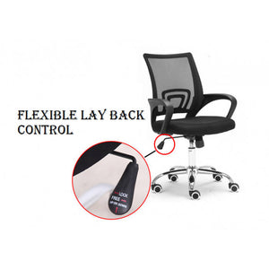 OSUKI - Office Chair Backrest Function (BLACK)