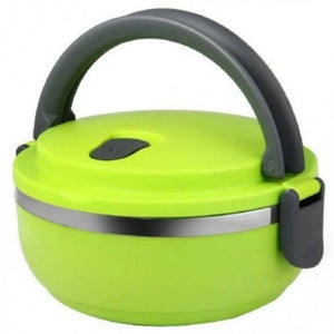 OSUKI - Stainless Steel Double Insulation Lunch Box Single Layer (GREEN)