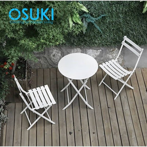 OSUKI - Outdoor Garden Table And Chair Set (3 IN 1)