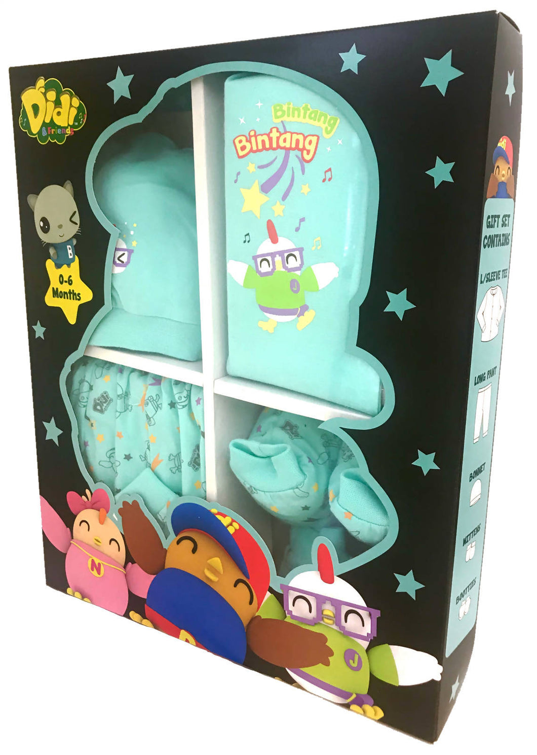 DIDI & FRIENDS - 5Pcs Gift Set - Jojo