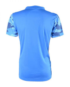 RIGHTWAY - Outré fit Sublimation Round Neck Ocean Blue