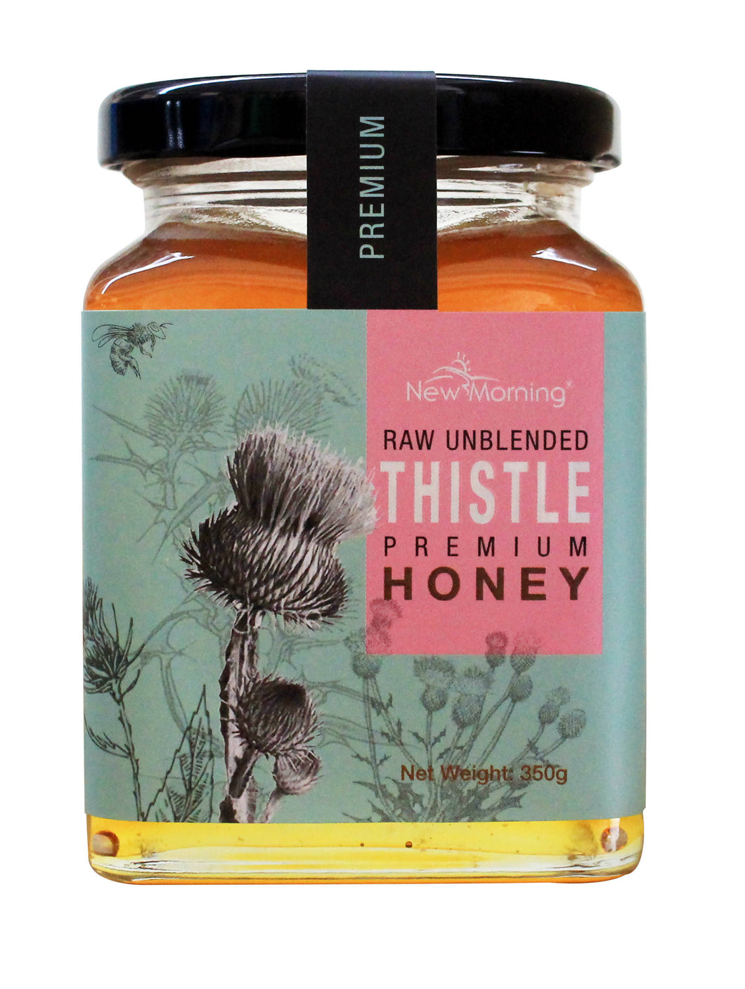 CAREMARK - New Morning Raw Unblended Thistle Premium Honey 350g