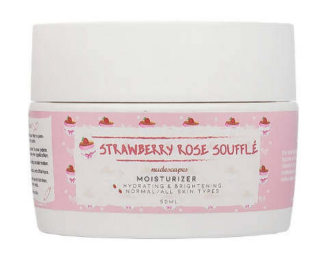 NUDESCAPES - Moisturizer - Strawberry Rose Souffle