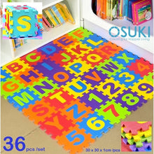 Load image into Gallery viewer, OSUKI - 36PCS Puzzle Baby ABC Mat (180X180X1CM)