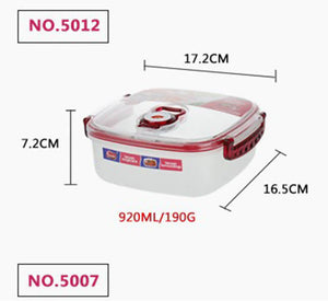 ANITA - Microwavable Vacuum Preserving Multi-purposes Food Container Box Set