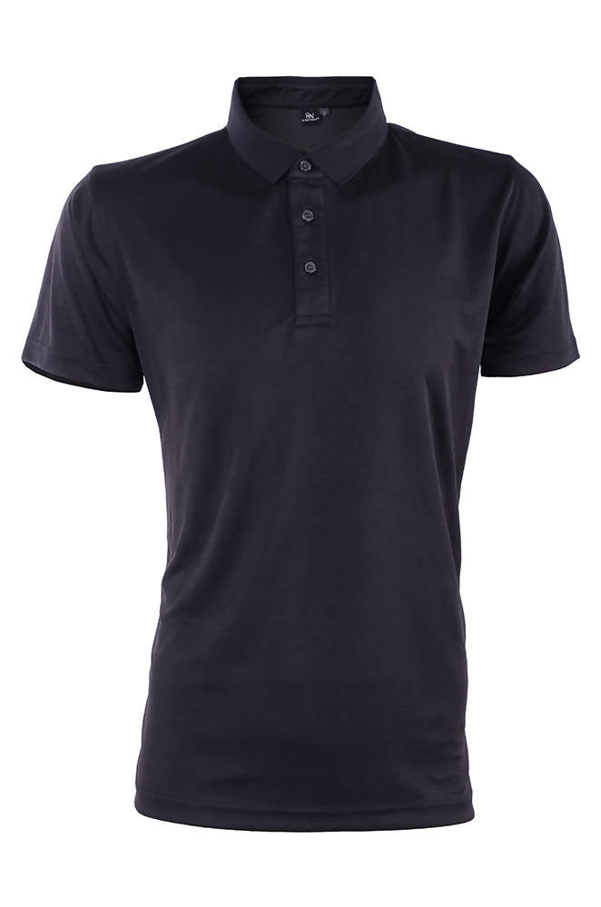 RIGHTWAY - Outréfit Reflective Design Polo Pirate Black