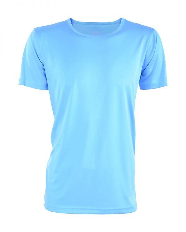 RIGHTWAY - Outré fit Round Neck Ocean Blue