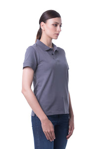 RIGHTWAY - Signature Polo Unisex - Steel Grey