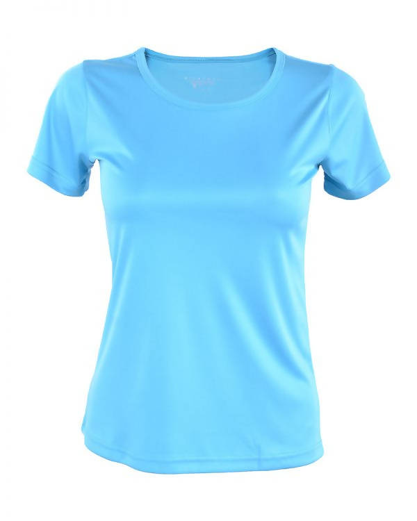 RIGHTWAY - Outréfit Round Neck Turquoise