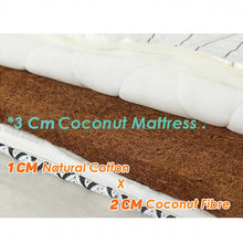 Load image into Gallery viewer, OSUKI - Natural Coconut Fibre Foldable Single Mattress