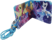 Load image into Gallery viewer, HANLOW - My Little Pony Slim Wallet with Lanyard - Blue