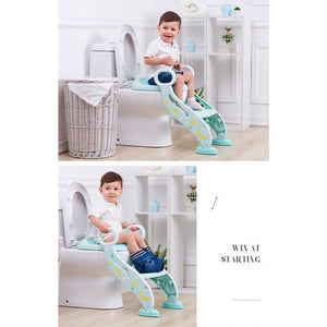OSUKI - Foldable Baby Toilet Seat With Ladder