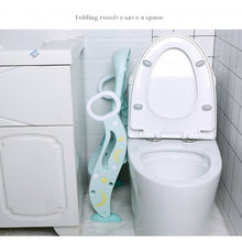 Load image into Gallery viewer, OSUKI - Foldable Baby Toilet Seat With Ladder