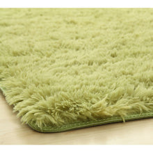 Load image into Gallery viewer, OSUKI - Modern 160 X 120CM Living Room Silky Wool Carpet (GREEN)