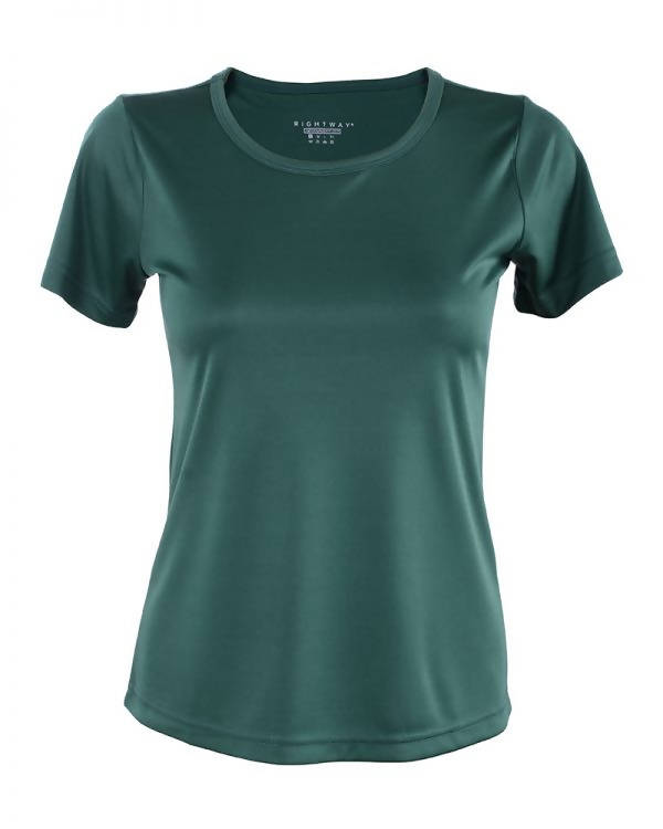 RIGHTWAY - Outréfit Round Neck Army Green