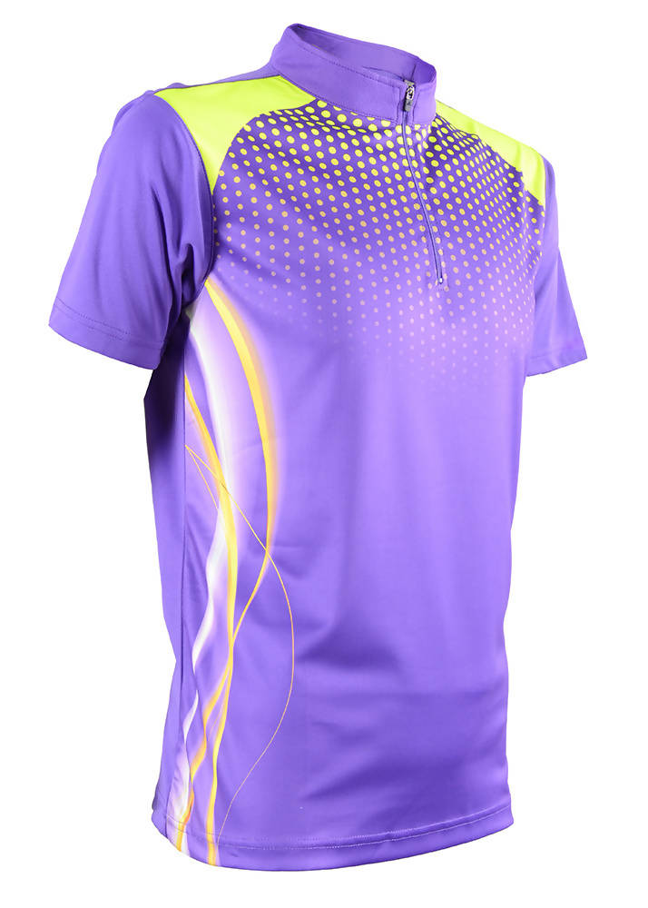 RIGHTWAY - Men's Outréfit Collared Majesty Purple