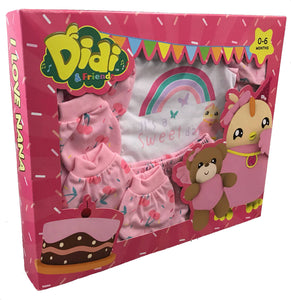 DIDI & FRIENDS - 5Pcs Gift Set - Girl