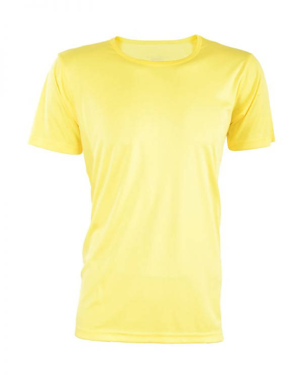 RIGHTWAY - Outré fit Round Neck Yellow
